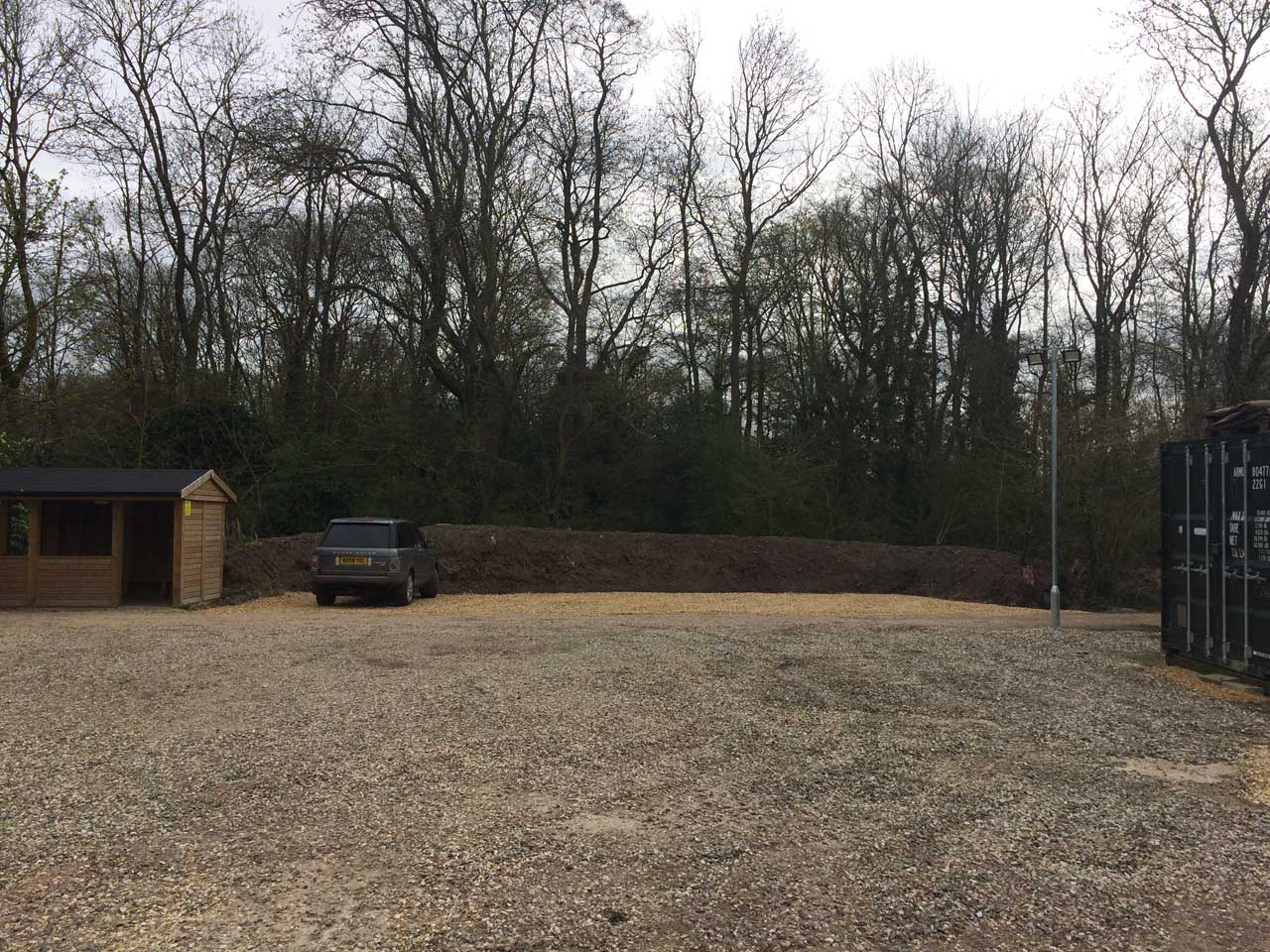 Image of Driveway and car park construction - Berkshire Hampshire Surrey - Car park driveway construction Holme Grange School Wokingham Berkshire - Let the Digger Do It