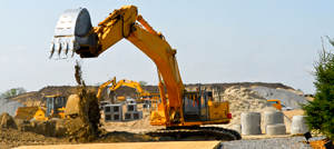Excavator hire with driver Berkshire Hampshire and Surrey