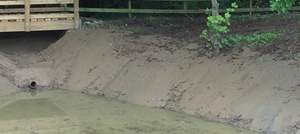 Clay lining of lakes in Berkshire, Hampshire and Surrey