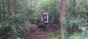 Site and land clearance Berkshire Hampshire Surrey - site and land clearance - Wokingham digger hire site clearance