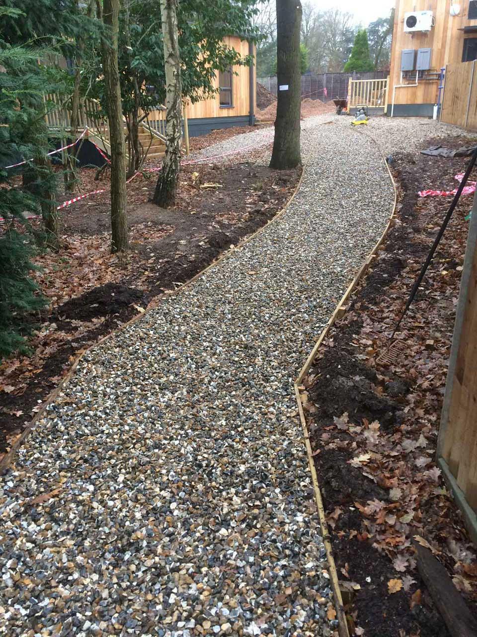 Landscaping in Wokingham at Holme Grange School Wokingham